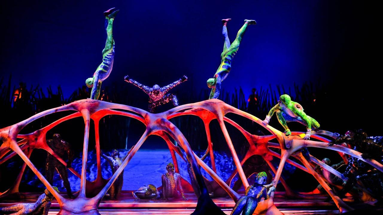 Getting into Cirque Du Soleil